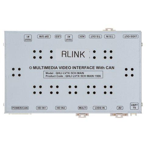 Видеоинтерфейс для Renault Opel Smart с головным устройством R Link 2014~ г.в.