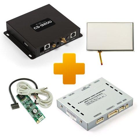 Car Navigation and Multimedia Kit for Audi MMI 3G Based on CS9200