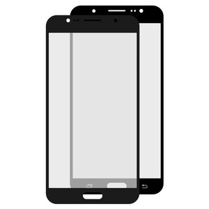 Housing Glass compatible with Samsung J710F Galaxy J7 (2016), J710FN Galaxy J7 (2016), J710H Galaxy J7 (2016), J710M Galaxy J7 (2016), (black)