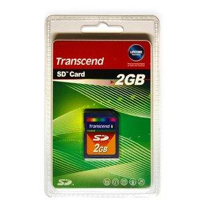Transcend SD card 2 GB