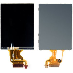 LCD compatible with Sony DSC-T2, (with touchscreen, with frame, with backlight)