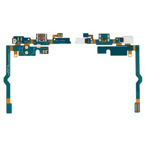 Flat Cable for LG P760 Optimus L9, P765 Optimus L9, P768 Optimus L9 Cell Phones, (microphone, charge connector, with components)