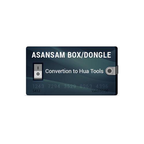 Asansam Box/Dongle Conversion to Hua Tools (HUA + HMI + HQT)