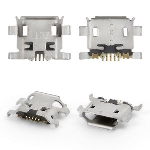 Charge Connector for Tablets; Cell Phones, (7 pin, micro USB type-B, type 7)