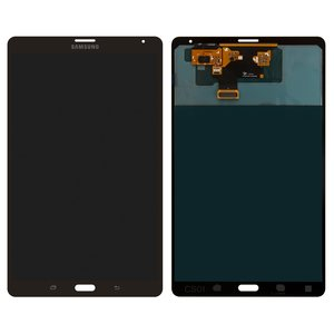 LCD for Samsung T705 Galaxy Tab S 8.4 LTE Tablet, (version 3G , bronze, with touchscreen)