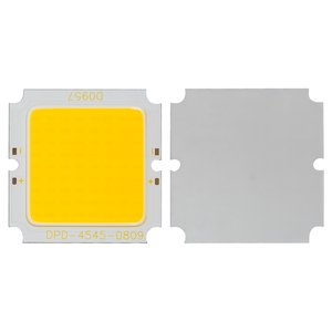 COB LED Chip 15 W (warm white, 1350 lm, 45 x 45 mm, 674 mA,  24 V)