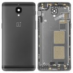 Housing Back Cover OnePlus 3T A3010, (black)