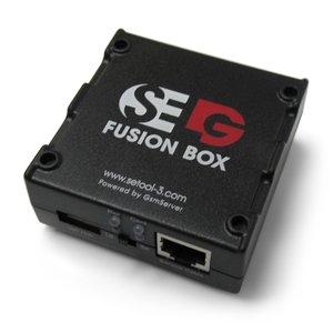 Caja SELG Fusion Box  con tarjeta  SE Tool  v1.107 y juego de cables estándar (28 cables)