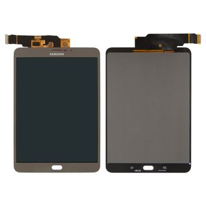 Pantalla LCD para tablet PC Samsung T715 Galaxy Tab S2 LTE, bronce, con cristal táctil