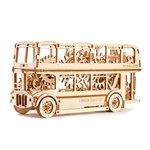 """Rompecabezas mecánico 3D Wooden.City """"London Bus"""""""