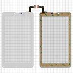"""Cristal táctil para tablet PC Elenberg TAB740; Irbis TZ47, TZ70; Nomi C07004 Sigma+, C07006 Cosmo+ ; Prestigio MultiPad Wize (PMT3407); Digma  Hit 4G, Plane 7.4 4G, 7"""", 184 mm, 104 mm, 31 pin, tipo 1, con sensor de acercamiento, capacitivo, blanco, #MTCTP-70760/MTCTP-70152/DP070023-F1/ZHC-0525A/FPC-FC70S786-00 FHX/FPC-CY70S217-00"""