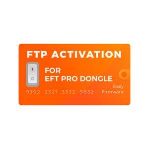 Активация FTP для донгла EFT