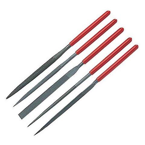 Набор надфилей Pro'sKit 8PK-605L с рукоятками (5 шт.)