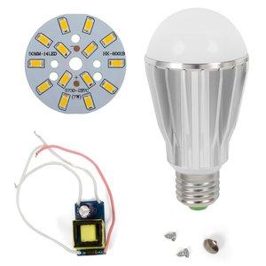Комплект для сборки светодиодной лампы SQ-Q17 7 Вт (теплый белый, E27), диммируемый