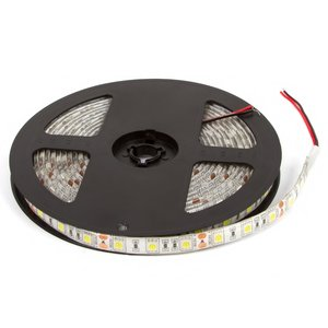 Світлодіодна стрічка SMD5050 (біла, 300 світлодіодів, 12 В DC, 5 м, IP65)