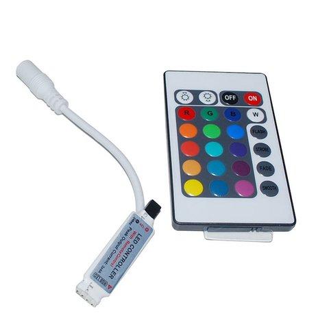 IR Remote Controller for RGB 3528 5050 5630 LED Strips 12 V, 6 A